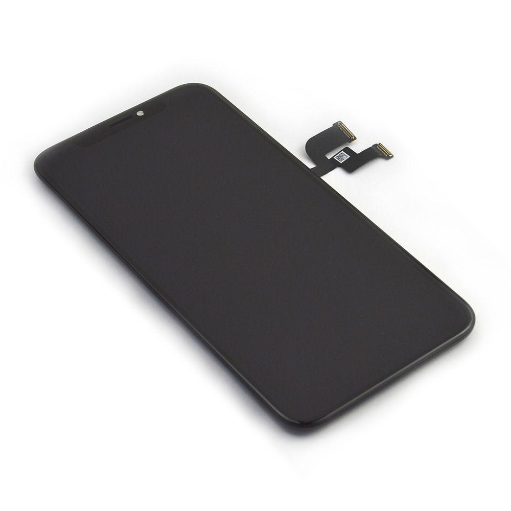 【iPhoneXs】 液晶フロントパネル アイフォン修理パーツ ガラス割れ 液晶割れ タッチ切れ アイフォン テン エス【スマホ交換用部品】