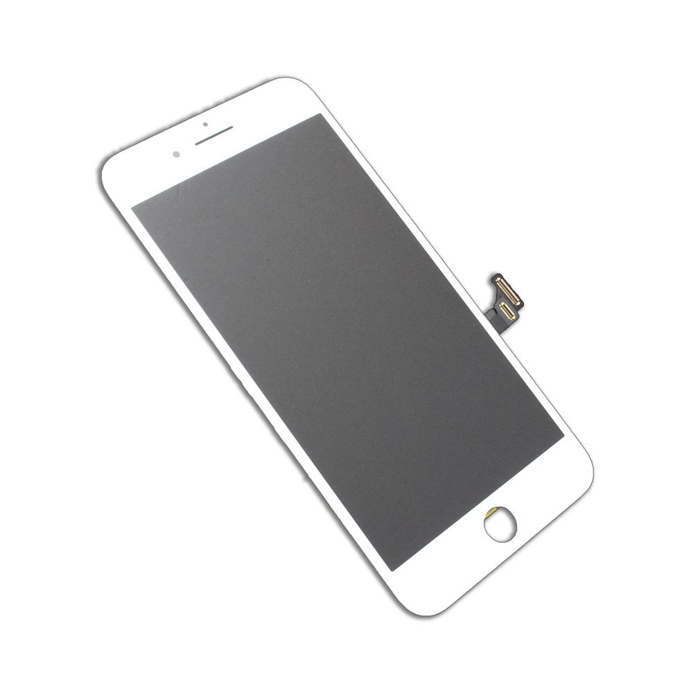 iPhone7プラス画面割れ、タッチ不良、液晶割れ修理用です。市場に出ている最高品質のパーツできれいに修理ができます! iPhone7Plus 液晶フロントパネルアセンブリ ホワイト アイフォン修理パーツ 【スマホ交換用部品】ゆうパケット可