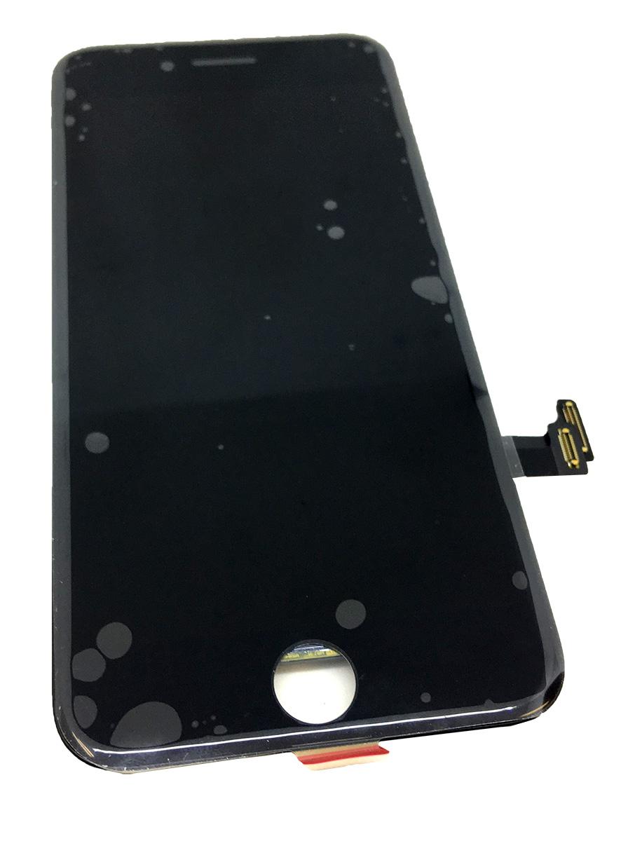 【iPhone7】 液晶フロントパネルアセンブリ ブラック アイフォン修理パーツ 【スマホ交換用部品】
