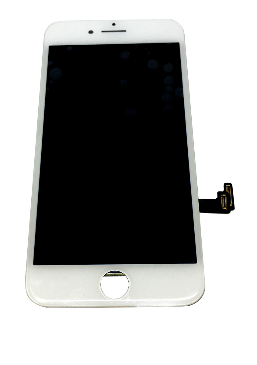 【iPhone7】 液晶フロントパネルアセンブリ ホワイト アイフォン修理パーツ 【スマホ交換用部品】
