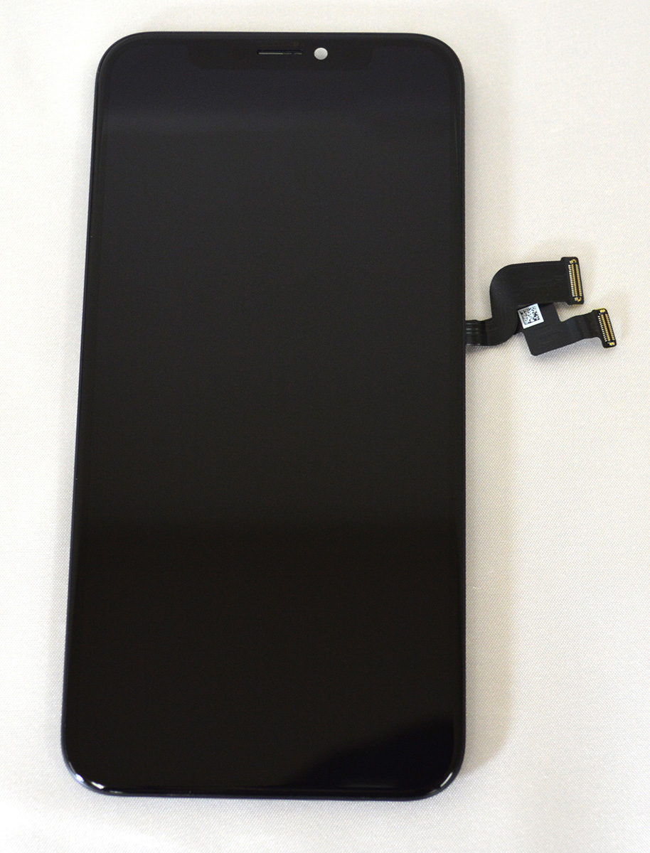 【iPhoneX】 液晶フロントパネルアセンブリ アイフォン修理パーツ ガラス割れ 液晶割れ タッチ切れ 有機EL アイフォン テン エックス【スマホ交換用部品】