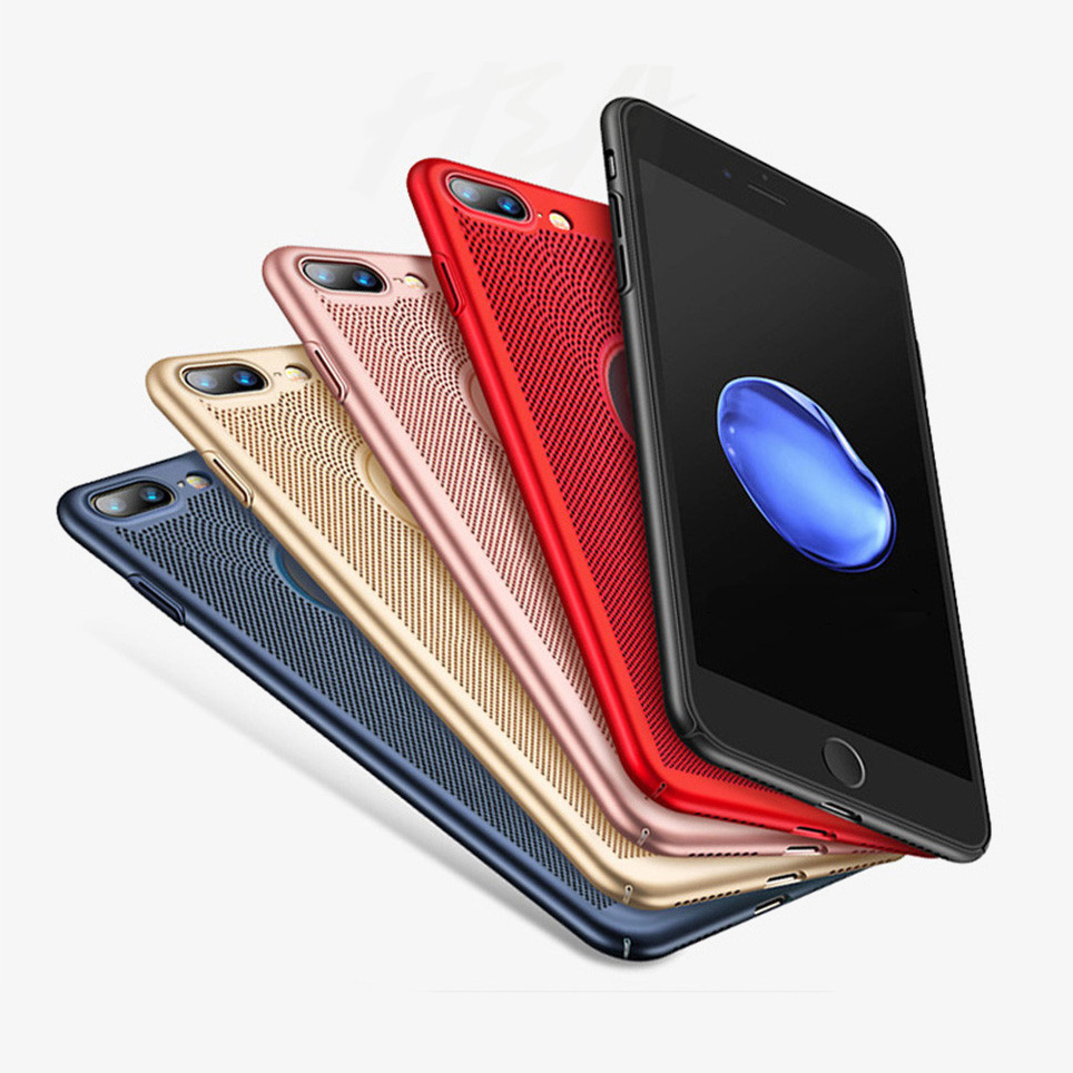 熱を逃がしやすく冷却に優れたiPhone Xs X 8 7 6s 本日限定 Plus ケース 排熱 お得なキャンペーンを実施中 冷却 iPhoneXs iPhone6s ケース保護 メール便なら送料無料 メッシュ 軽い 通気性抜群 iPhone8 カバー ハードケース iPhone7