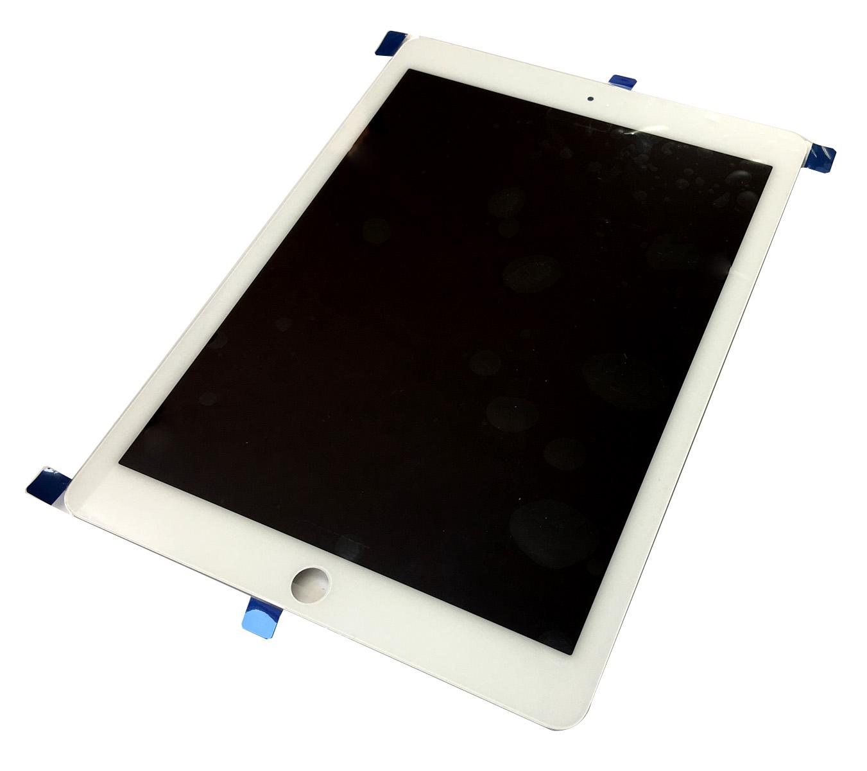 【iPad Air2】フロントパネル ホワイト【アイパッドエアー2修理交換用部品】【液晶+タッチパネル+前面ガラス】