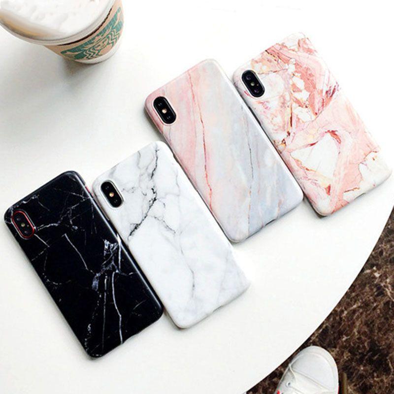 iPhone ケース 18%OFF 大理石 マーブル カバー Xs SE2 売却 X 8 7 6s ストーン ホワイト Plus おしゃれ iPhoneXs Plus対応ケース ブラック かわいいケース TPU メール便で送料無料