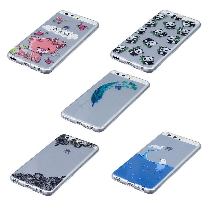 Huawei P10 Lite ケース クリア メール便なら送料無料 デポー デザイン カートゥーン 安心の実績 高価 買取 強化中