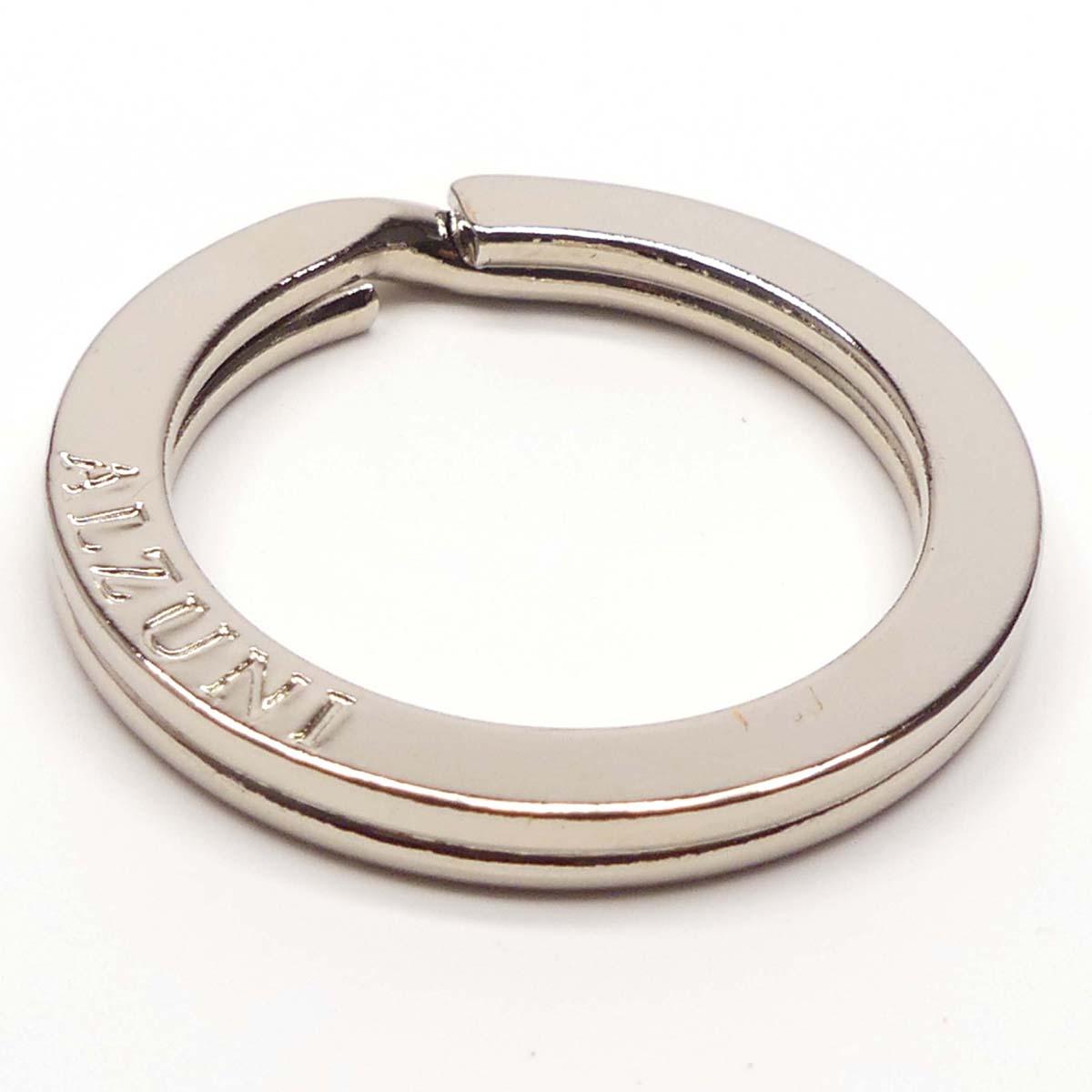 キー カギ 鍵 ALZUNI アルズニ ブランド オリジナル 刻印 2重リング 25mm 内径25mm リング ワッカ カギの取り付けに