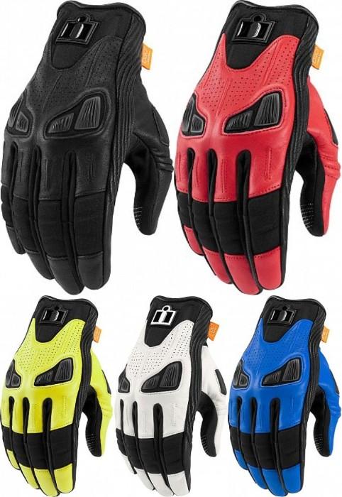 \5/5★キャッシュレス実質9%引/【3XLまで】 Icon Automag Gloves ライディンググローブ バイクグローブ ゴアテックス 冬 ウィンター 大きいサイズあり 【ホワイト】【レッド】【AMACLUB】【かっこいい】