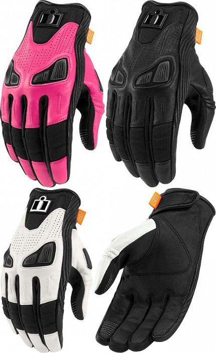 \5/5★キャッシュレス実質9%引/ Icon Automag women Gloves ライディンググローブ バイクグローブ ゴアテックス 冬 ウィンター 大きいサイズあり 【ホワイト】【AMACLUB】【かわいい】