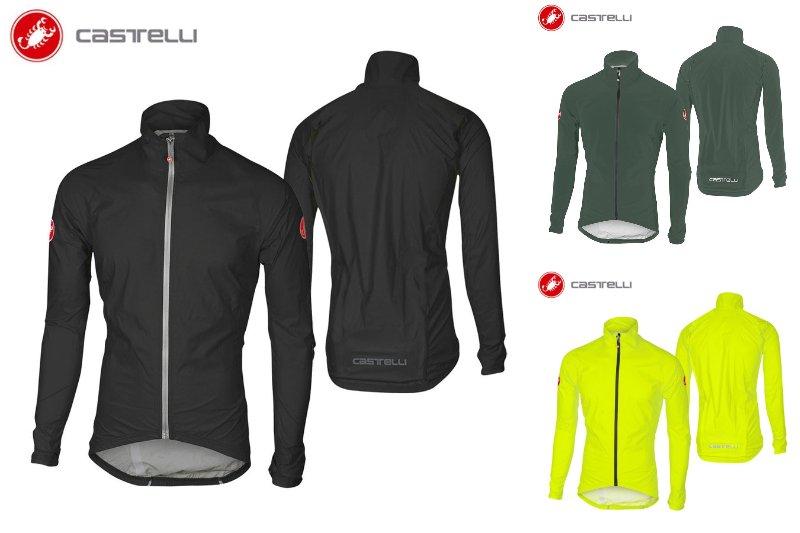 \5/5★キャッシュレス実質9%引/【耐水】【防風】 Castelli Emergency Rain ジャケット ロード サイクリング サイクル 自転車 【AMACLUB】【かっこいい】