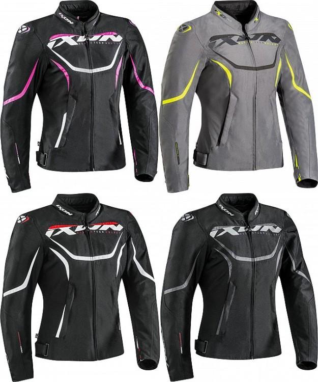 \5/5★キャッシュレス実質9%引/【3XLまで】 Ixon イクソン Sprinter textile jacket women ライディングジャケット バイク レーシング ツーリング バギーにも 防寒 【AMACLUB】【かっこいい】