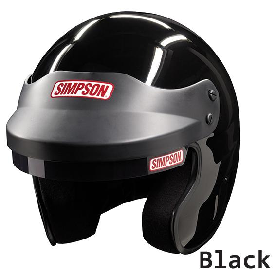 \5/5★キャッシュレス実質9%引/SIMPSON シンプソン FR Cruiser Black ヘルメット レーシング ツーリングにも ライダー バイク 【AMACLUB】【かっこいい】 ばくおん