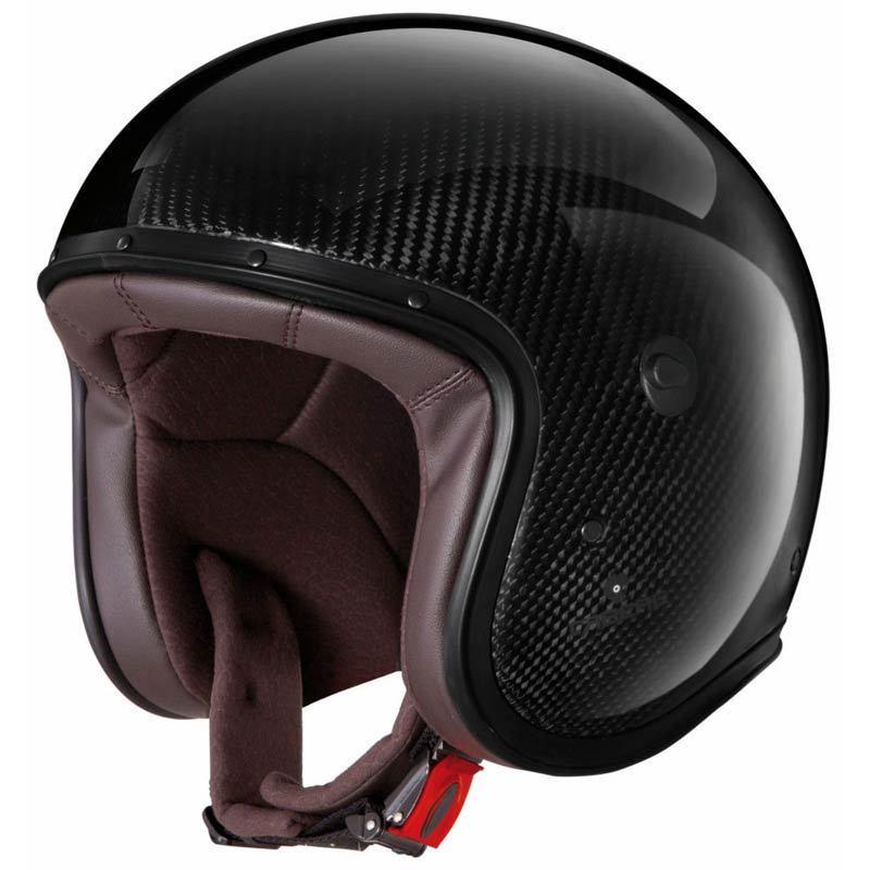 Caberg カバーグ Freeride Carbon ジェットヘルメット オシャレ イタリアブランド フリーライド カーボン バイクにも バイク【カーボン】かっこいい カフェレーサー スタイリッシュ  おすすめ 高級