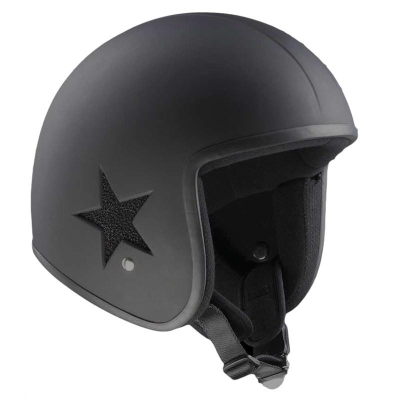 Bandit バンディット Sky Jet 2 Helmet ジェットヘルメット オシャレ オープンフェイス ツーリングにも オンロード ライダー バイク 【黒】【AMACLUB】 クラシック アメリカン かっこいい
