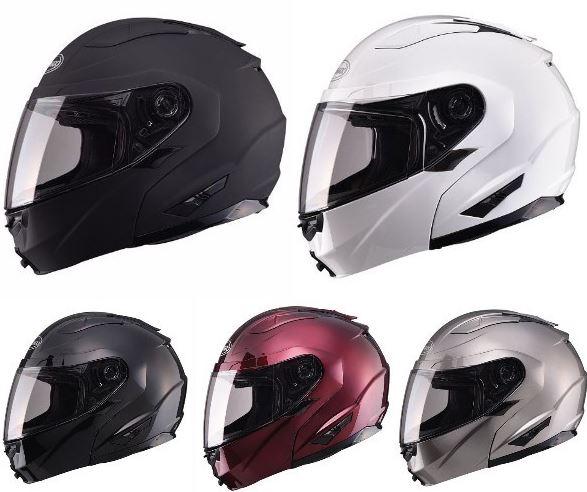 【3XLまで】 GMAX ジーマックス GM64 Solid Helmet ヘルメット レーシング フルフェイス バイク ツーリングにも 大きいサイズあり黒白【AMACLUB】街乗り
