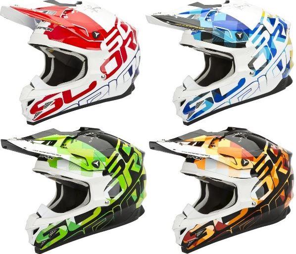 \5/5★キャッシュレス実質9%引/【欧州限定モデル】 Scorpion スコーピオン VX-15 Evo Air Grid Helmet オフロード モトクロス ヘルメット 【AMACLUB】【値下Vol.6】かっこいい