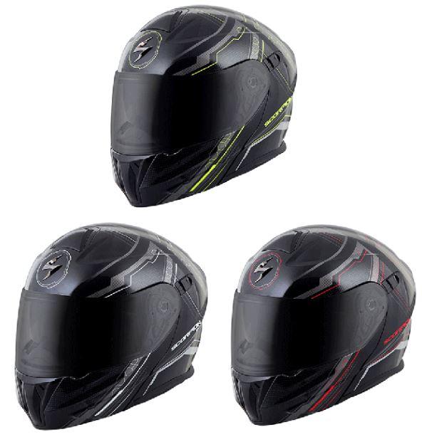 【3XLまで】 Scorpion スコーピオン EXO-GT920 Satellite Helmet 2016モデル フルフェイス ヘルメット モジュラーヘルメット レーシング ツーリングにも ライダー バイク 大きいサイズあり アウトレット ワケあり【赤】【銀】【黄】【AMACLUB】かっこいい おすすめ