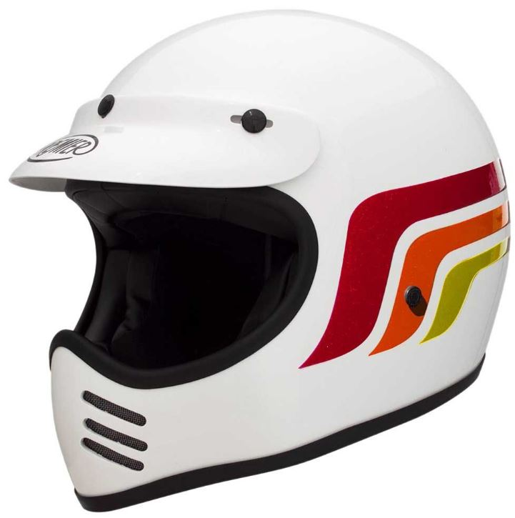 Premier プレミア Trophy MX LC enduro Helmet 2017モデル オフロード モトクロス ヘルメット エンデューロ トロフィー クラシック イタリアブランド【白】【AMACLUB】 おすすめ