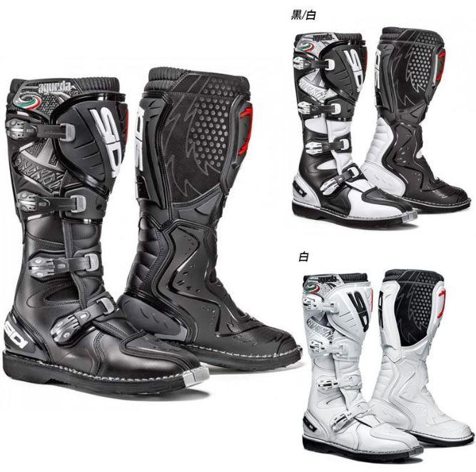 SIDI シディ AGUEDA BOOTS 2017モデル オフロード モトクロス ブーツ バイク アゲダ 【黒】【黒/白】【白】 【AMACLUB】 かっこいい