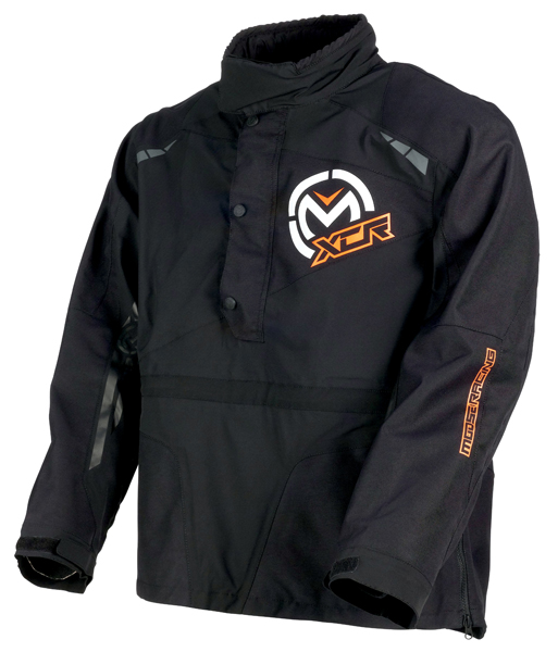 【S~4XL】Moose Racing ムース XCR PULLOVER JACKET 2018モデル ライディングジャケット プルオーバージャケット オフロードジャケット エンデューロ バイク ツーリング バギーにも 防水 防寒 大きいサイズあり【黒】【AMACLUB】 おすすめ