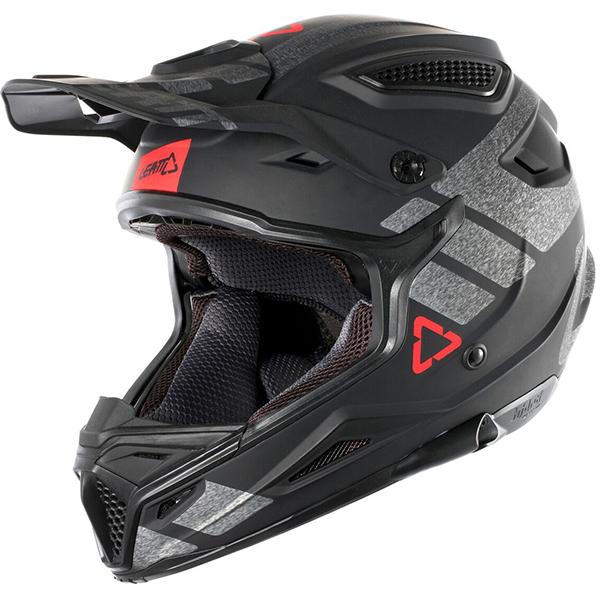 LEATT リアット GPX 4.5 V24 HELMET 2018モデル モトクロス オフロードヘルメット バイク 【黒/ブラッシュド】【AMACLUB】 おすすめ