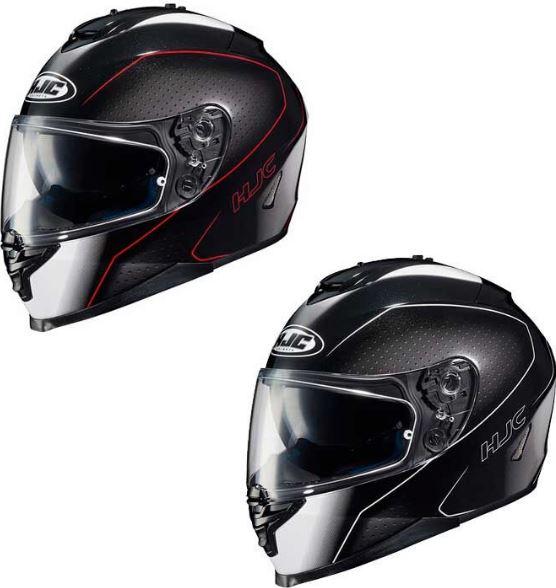 【ダブルバイザー】HJC エイチジェイシー IS-17 Arcus Helmet フルフェイスヘルメット サンバイザー バイク ライダー ツーリングにも アーカス 【黒/白】【黒/白/赤】【AMACLUB】 かっこいい おすすめ