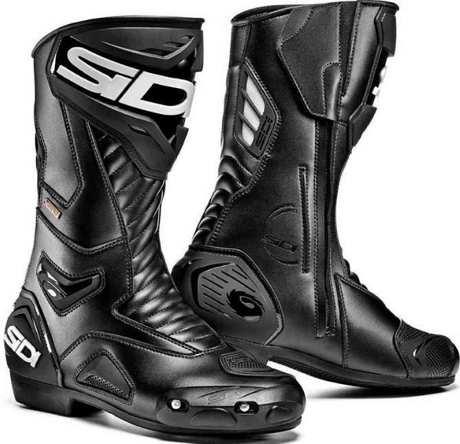 【Gore-Tex】【防水/防風/透湿性】【EU48まで】Sidi シディ Performer Gore-Tex Boots ライディングブーツ バイクブーツ ゴアテックス オンロード ストリート ツーリングにも 通気性 パフォーマー 大きいサイズ あり 【黒】【AMACLUB】 かっこいい