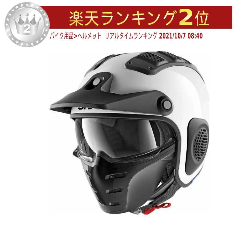 Shark シャーク X-Drak Blank Jet Helmet 2018モデル ジェットヘルメット オープンフェイス バイク ツーリングにも Xダラク ブランク アウトレット【白】かっこいい おすすめ