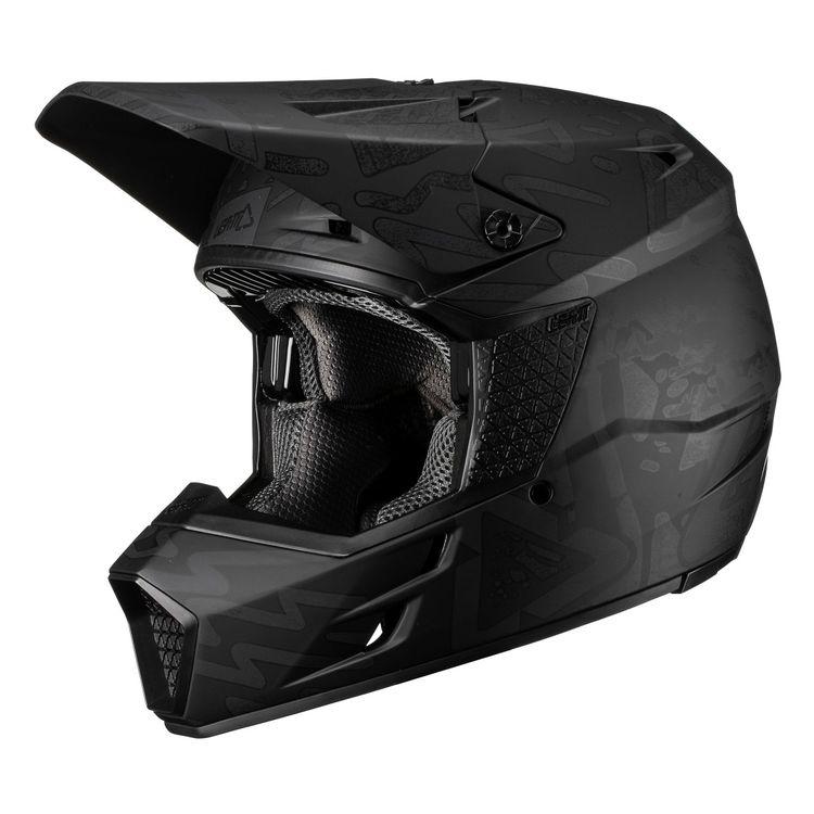 \5/5★キャッシュレス実質9%引/LEATT リアット GPX 3.5 V19.3 2019モデル オフロードヘルメット モトクロスヘルメット バイク かっこいい おすすめ(トライブブラック)(AMACLUB) 街乗り