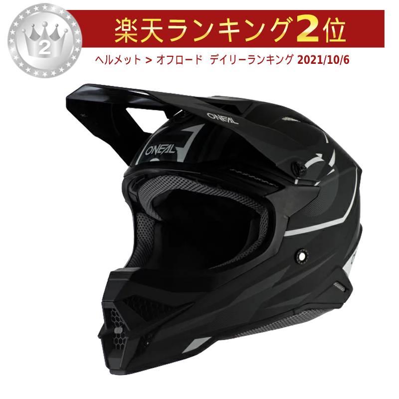 \5/5★キャッシュレス実質9%引/Oneal オニール 3 SERIES RIFF 2020モデル モトクロスヘルメット オフロードヘルメット バイク かっこいい 3シリーズ リフ おすすめ(ブラック/グレイ)(AMACLUB) 街乗り