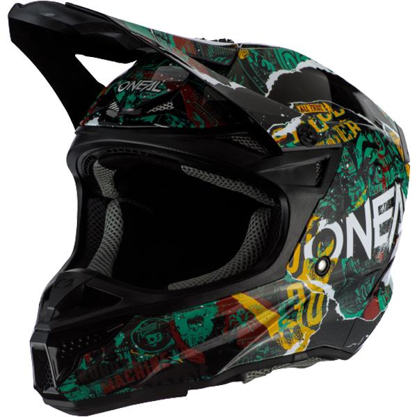 \5/5★キャッシュレス実質9%引/Oneal オニール 5 SERIES SAVAGE 2020モデル モトクロスヘルメット オフロードヘルメット バイク かっこいい 5シリーズ サベージ おすすめ(マルチ)(AMACLUB) 街乗り