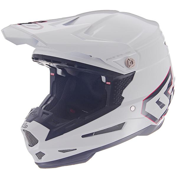 \5/5★キャッシュレス実質9%引/6D ATR-2 SOLID モトクロスヘルメット オフロードヘルメット ODS 全方向性サスペンション 衝撃吸収 バイク かっこいい ソリッド おすすめ(グロスホワイト)(AMACLUB) 街乗り