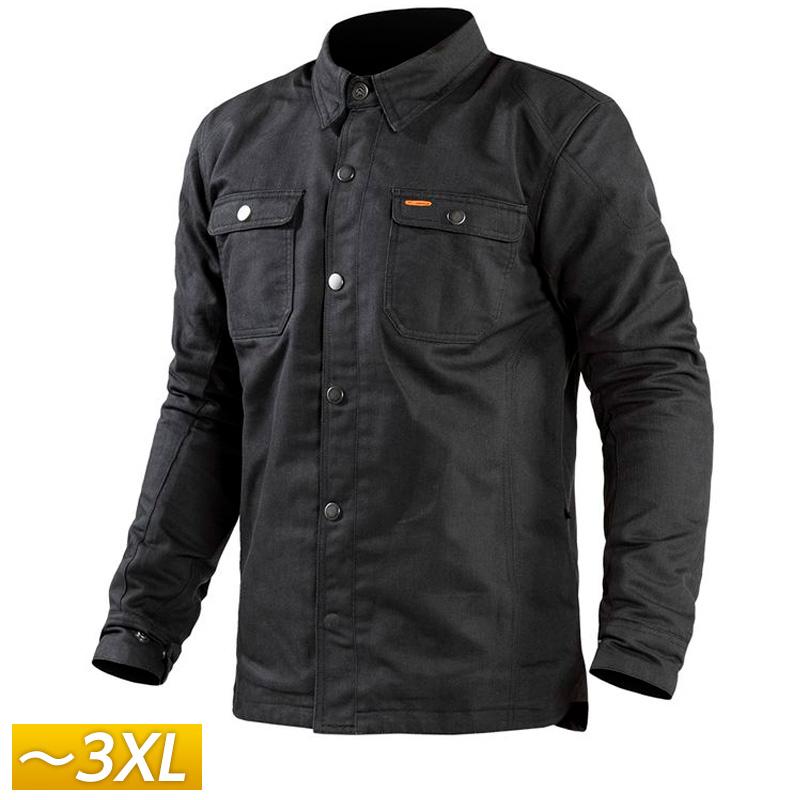 【3XLまで】REAX リアックス Fairmount Riding Shirt ライディングシャツ ジャケット バイクウェア カジュアル プロテクター ライダー バイク ツーリングにも シンプル かっこいい ウェアマウント 大きいサイズ あり アウトレット【AMACLUB】