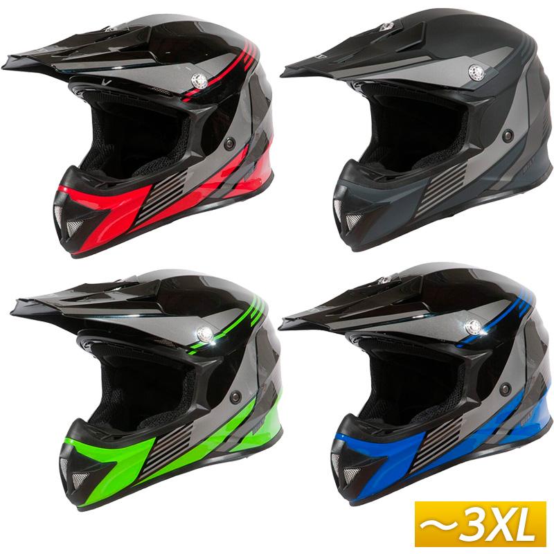 【3XLまで】Bilt ビルト Amped Evo モトクロスヘルメット オフロードヘルメット バイク アメリカン かっこいい アンプド エヴォ 大きいサイズ あり アウトレット【AMACLUB】