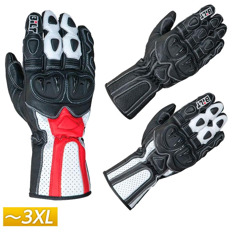 【3XLまで】Bilt ビルト Max Speed Leather レザーグローブ ライディンググローブ 革 手袋 ライダー バイク ツーリングにも かっこいい マックススピード 大きいサイズ あり アウトレット【AMACLUB】