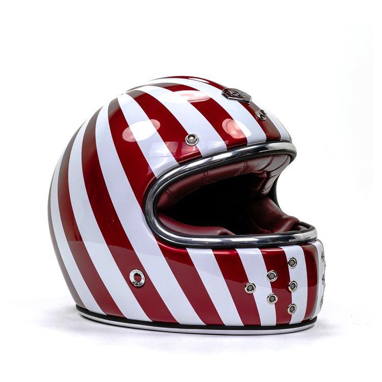 【カーボン】Ruby ルビー Castel Shibuya フルフェイスヘルメット クラシック レトロ オンロード バイク ツーリング 高級 フランス かっこいい カステル シブヤ アウトレット【AMACLUB】