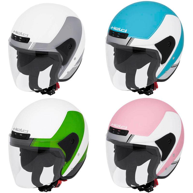 【女性用にも】【男性用にも】 Held ヘルド Heros Décor 2014 Helmet ジェットヘルメット オシャレ ドイツブランド オープンフェイス ツーリングにも ライダー バイク 2014年 女子にも (ピンク) かわいい カワイイ
