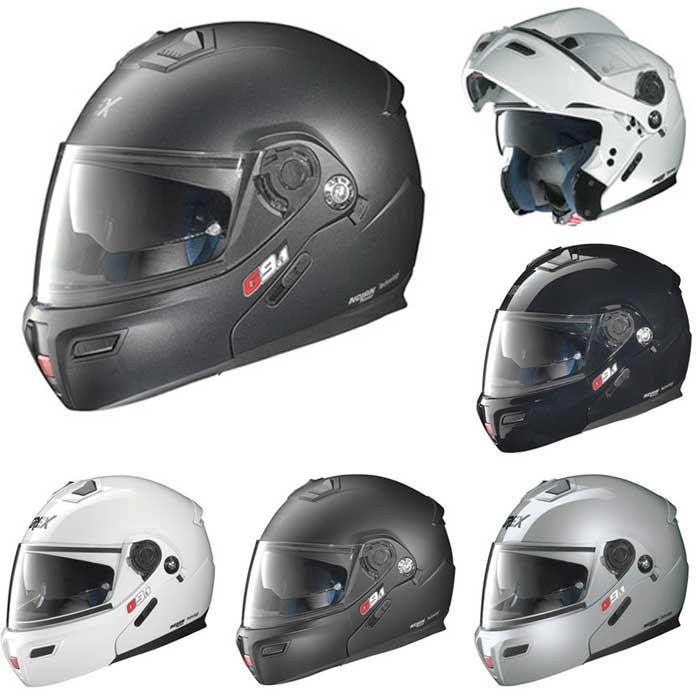 【Nolanグループ】 Grex グレックス G9.1 Kinetic Helmet フリップアップヘルメット イタリアブランド ツーリングにも ライダー バイク システムヘルメット ノーラン 【黒】【艶消黒】【銀】【マットグラファイト】【白】【AMACLUB】 おすすめ 街乗り