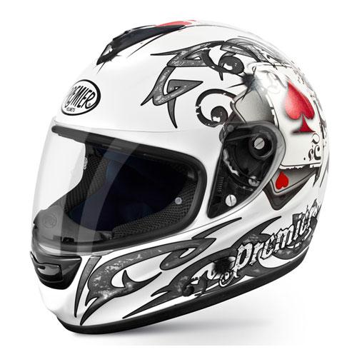\5/5★キャッシュレス実質9%引/Premier プレミア Monza J8 Pitt Helmet フルフェイス ヘルメット モンツァ ツーリング バイク イタリアブランド【ホワイト】【AMACLUB】 おすすめ 街乗り