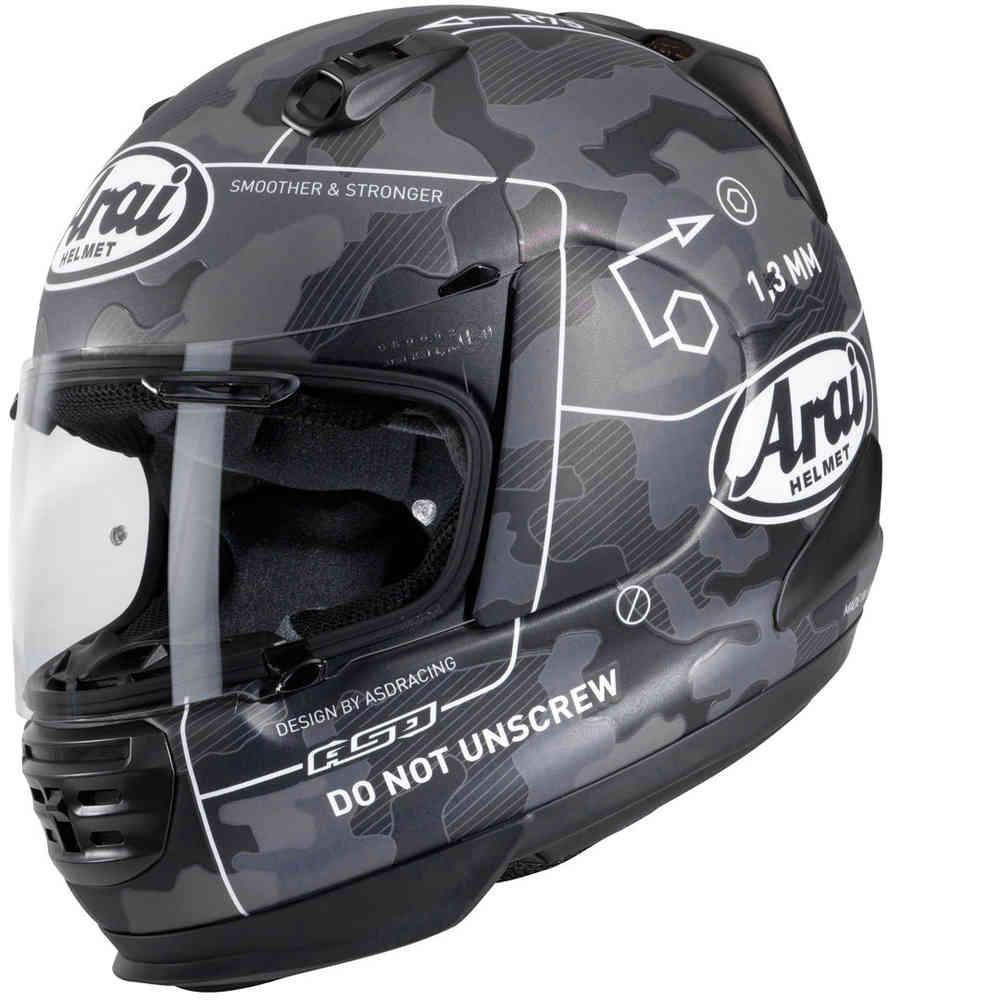 【日本未発売モデル】Arai アライ Rebel Command Helmet フルフェイス ヘルメット レーシング ツーリング にも オンロード【黒】【AMACLUB】 おすすめ