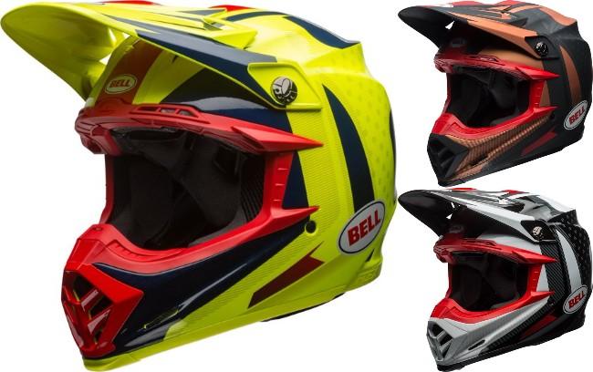 BELL ベル MOTO-9 CARBON FLEX VICE 2018モデル モトクロス オフロード ヘルメット アウトレット 【青黄】【銅黒】【黒白】かっこいい おすすめ