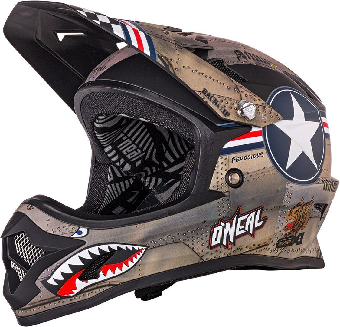 O´Neal Backflip RL2 Wingman 2018モデル ヘルメット 自転車 ダウンヒル MTB XC BMX マウンテンバイク ロード クロスカントリー 【緑】【AMACLUB】【かっこいい】 街乗り