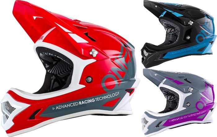O´Neal Backflip RL2 Bungarra 2018モデル ヘルメット 自転車 ダウンヒル MTB XC BMX マウンテンバイク ロード クロスカントリー 【赤灰】【青黒】【白灰紫】【AMACLUB】【かっこいい】