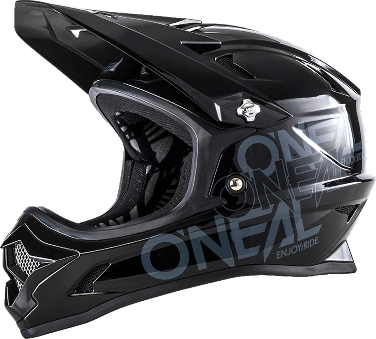 O´Neal Backflip RL2 Solid Youth 2018モデル ヘルメット 自転車 ダウンヒル MTB XC BMX マウンテンバイク ロード ユース 子供用 クロスカントリー 【黒】【AMACLUB】