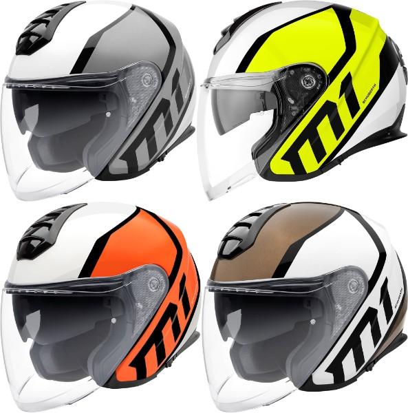 \5/5★キャッシュレス実質9%引/Schuberth M1 Flux Jet Helmet フルフェイス・ジェットヘルメット オシャレ オープンフェイス ダブルシールド システムヘルメット 【AMACLUB】【かっこいい】 街乗り