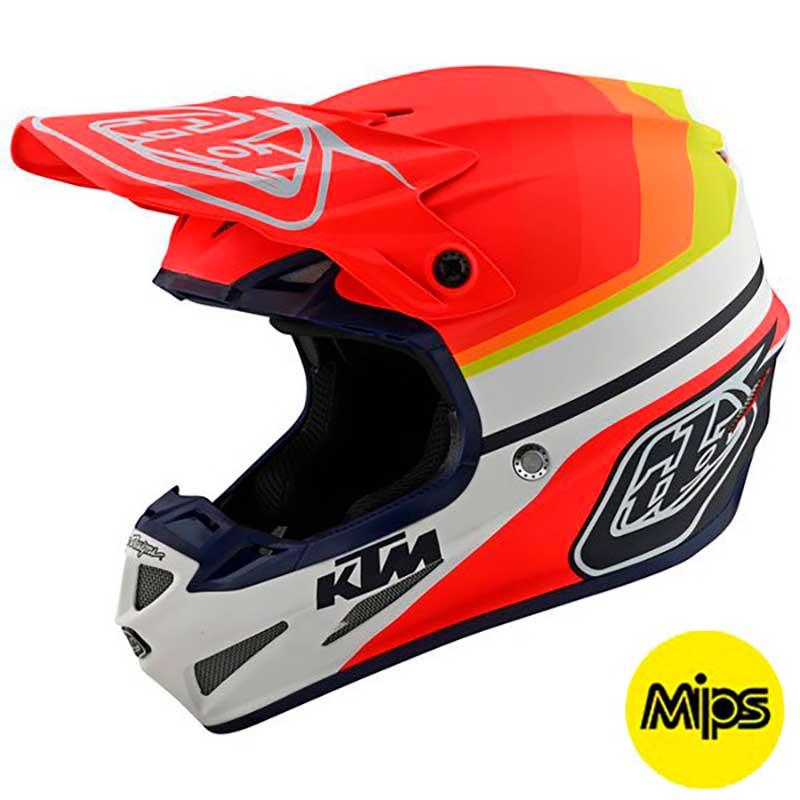 \5/5★キャッシュレス実質9%引/【MIPS】 TROY LEE DESIGNS SE4 COMPOSITE KTM MIRAGE 2020モデル コンポサイト ミラージュ モトクロスヘルメット オフロードヘルメット バイク かっこいい