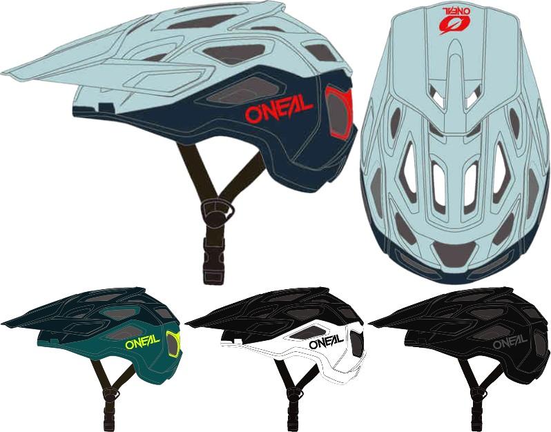 \5/5★キャッシュレス実質9%引/Oneal オニール Pike 2.0 Solid 自転車用ライダーヘルメット ダウンヒル MTB XC BMX マウンテンバイク ロード クロスカントリーにも かっこいい おすすめ (AMACLUB)