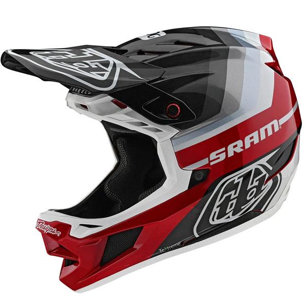 Troy Lee Designs トロイリーデザイン D4 Carbon Mirage Sram Helmet w/ MIPS 自転車用ヘルメット ダウンヒル MTB XC BMX マウンテンバイク ロード クロスカントリー おすすめ (AMACLUB)