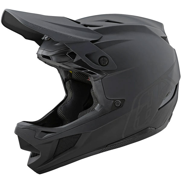 Troy Lee Designs トロイリーデザイン D4 Composite Stealth Helmet w/ MIPS 自転車用ヘルメット ダウンヒル MTB XC BMX マウンテンバイク ロード クロスカントリー おすすめ (AMACLUB)