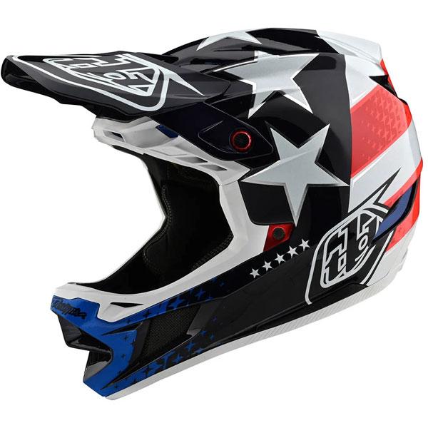 Troy Lee Designs トロイリーデザイン D4 Composite Freedom 2.0 Helmet w/ MIPS 自転車用ヘルメット ダウンヒル MTB XC BMX マウンテンバイク ロード クロスカントリー かっこいい おすすめ (AMACLUB)