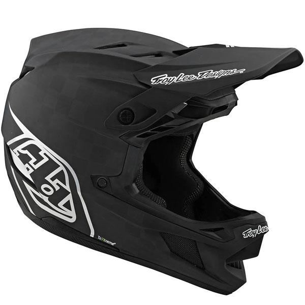 Troy Lee Designs トロイリーデザイン D4 Carbon Stealth Helmet w/ MIPS 自転車用ヘルメット ダウンヒル MTB XC BMX マウンテンバイク ロード クロスカントリー かっこいい おすすめ (AMACLUB)